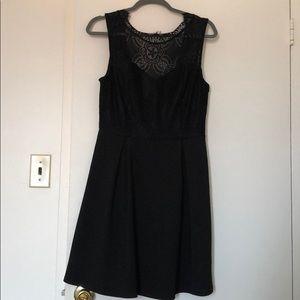 Francesca black dress